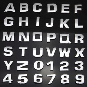 A-Z-Letter-Car-Auto-3D-LOGO-DIY-Metallic-Alphabet-Sticker-Emblem-Decal-Decor