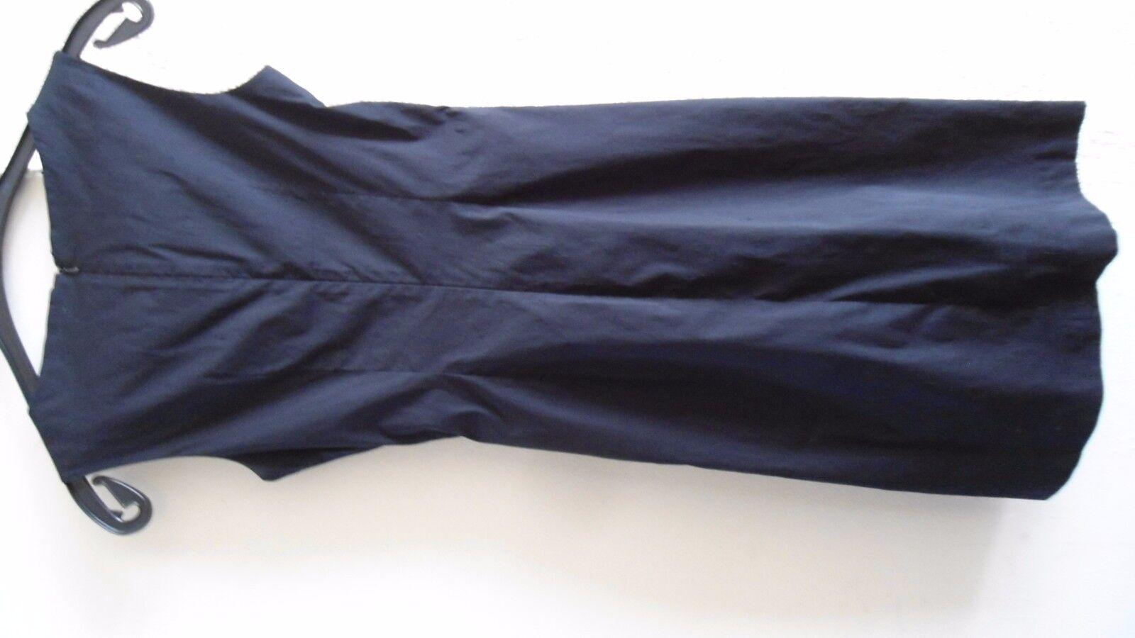 ORIGINALE Lusso Designer abito DKNY Donna Karan NERO SETA SETA SETA TG. 4 34 36 NUOVO d9df1d