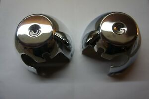 Image Is Loading CHROME Speedo Amp Tacho Clock Bottom Covers KAWASAKI
