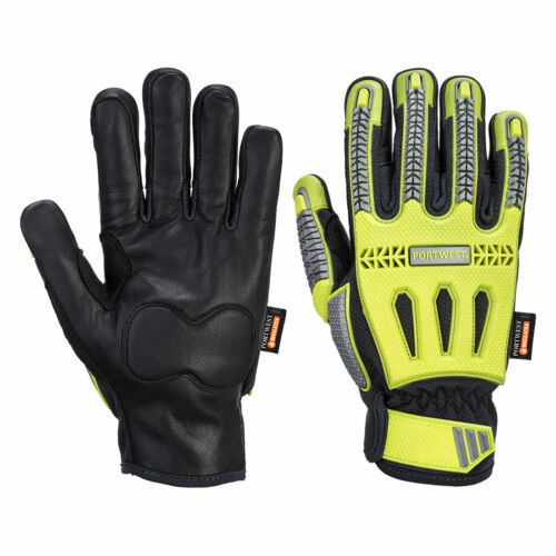 Portwest A762 R3 Impact Hiver Protection Durable Cuir TPR Waterproof Glove