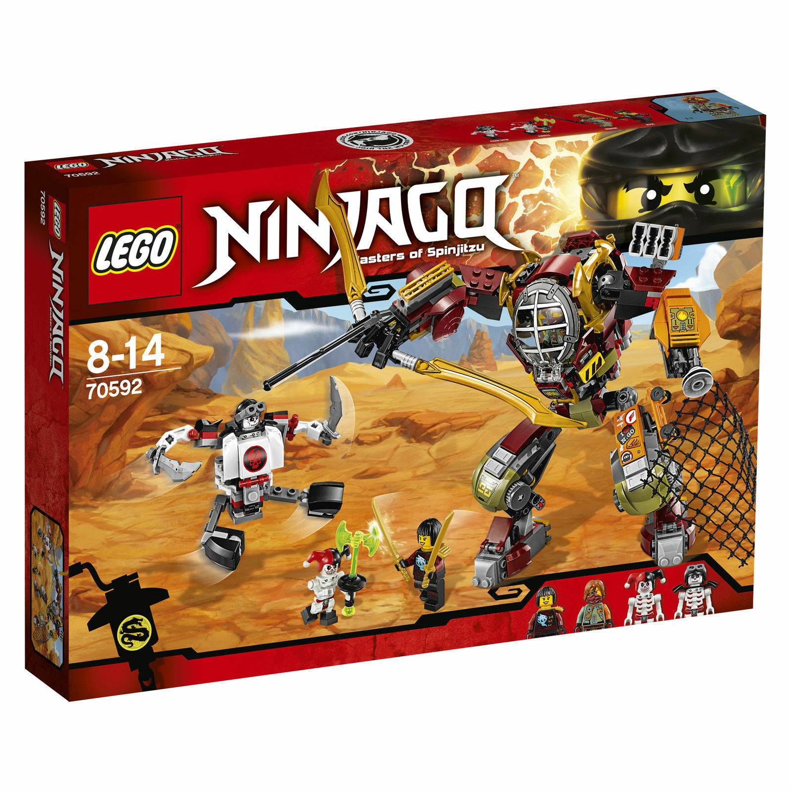 LEGO NINJAGO NINJAGO NINJAGO Schatzgräber M.E.C. (70592) 9acc21