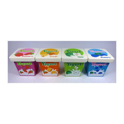 für Kaufladen Kinderküche NEU Estia 600277 Joghurt im Set # 4 Becher