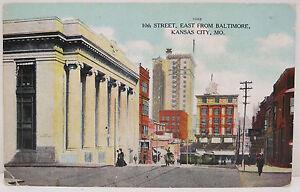 USA-Postcard-Postcard-Ak-10th-Street-Fairbury-1908-1c-Series-1902-A2304