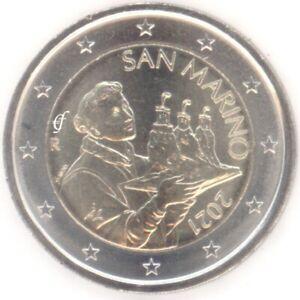 San Marino 2 Euro Kursmünze Kursmünzen - alle Jahre wählen - Neu