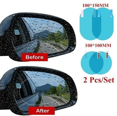 2 Pieces Anti Fogging Rainproof Film DSCA1242 Anti Glare Car Accessories