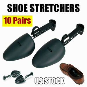 10 Pairs Practical Adjustable Shoe Stretchers Tree Shaper Keeper 5.5-11.5 Size