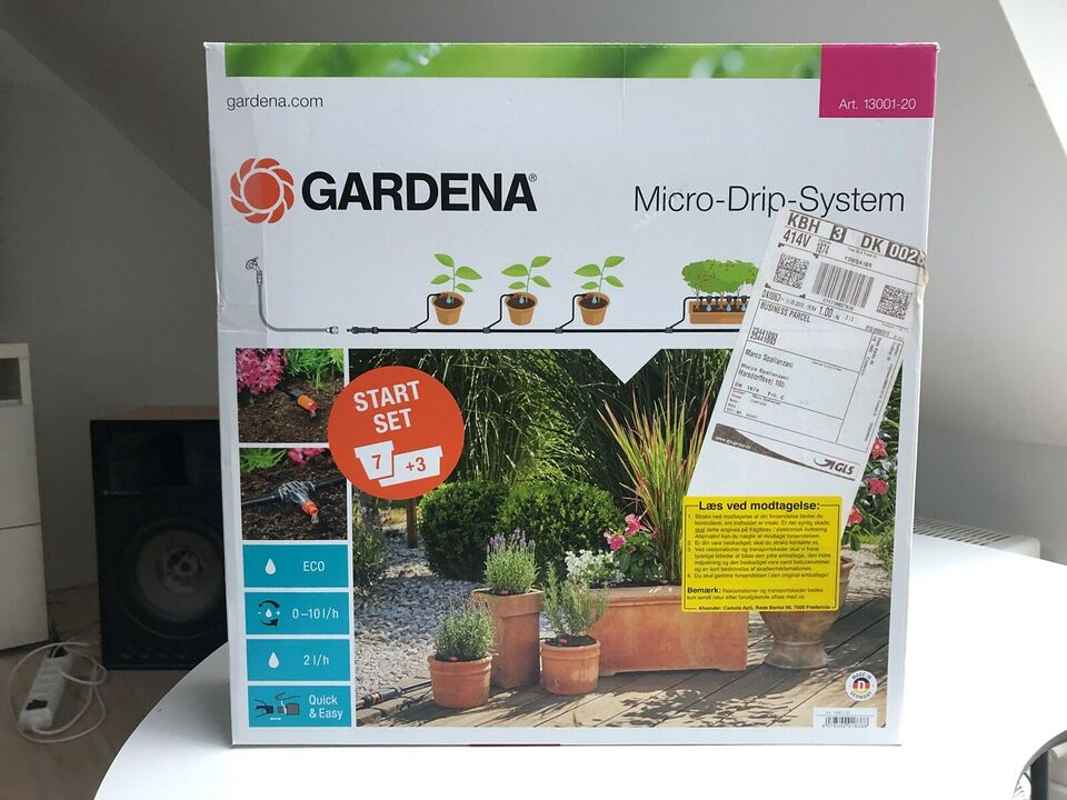 Gardena vandingssystem