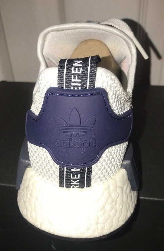 New Adidas JD Sports Exclusive NMD NMD NMD White Black Navy RARE color CG2949 6.5 f50ea0