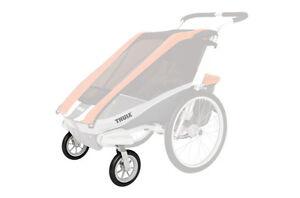 Thule-Chariot-Strolling-Kit-Buggy-Set-mit-zwei-schwenkbaren-8-Zoll-Raedern