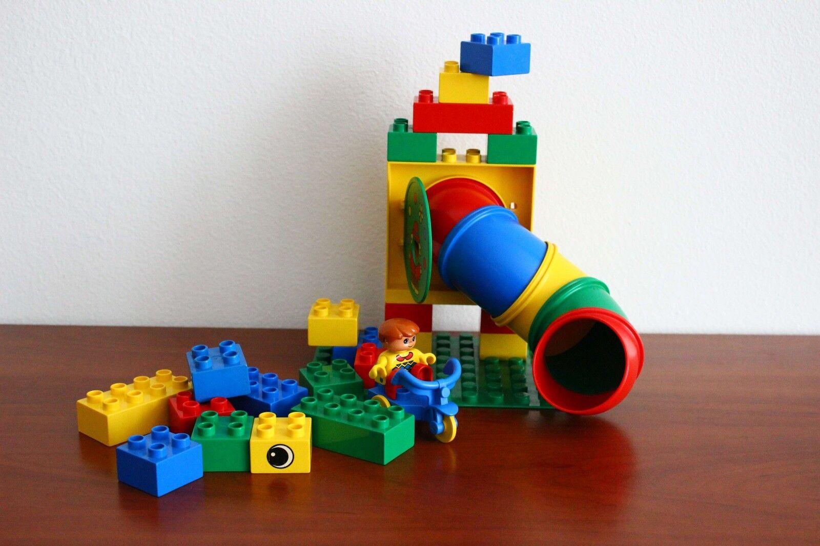 Lego Lego Lego Duplo Basic Set Like 2222-1 Tunnel Fun Free Shipping a879b7