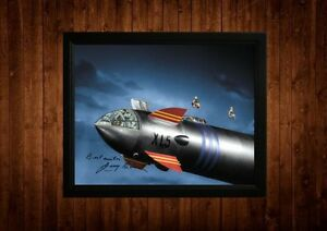 FIREBALL-XL5-GERRY-ANDERSON-SIGNED-PP-FRAMED-A4-GIFT-IDEAS-RETRO-TV-CARTOON