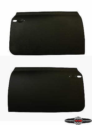 Pair of Classic Mini Door Skins Panels Mk3 Onwards Passenger and Driver side
