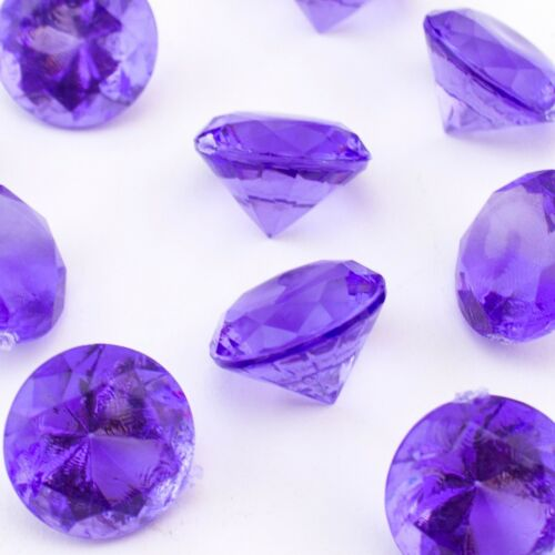 1lb Mini Acrylic Crystal Flat Head Diamond Gems Pirate vase filler Choas Emerald