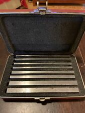 Starrett Parallels Set Ghrm S384 2z Brand New 14 38 Thick 6 Long