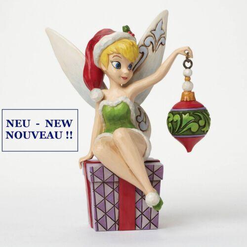"DISNEY Skulptur /""TINKER BELL SPIRIT OF THE SEASON/"" Jim Shore Figur 4046065 NEU!!"