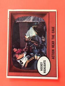Action-Near-The-Cage-1961-62-Topps-Hockey-Card-21