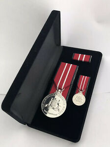 Replica-Medal-Australian-Defence-Medal-Court-Mounted-Full-Size-Display-Box