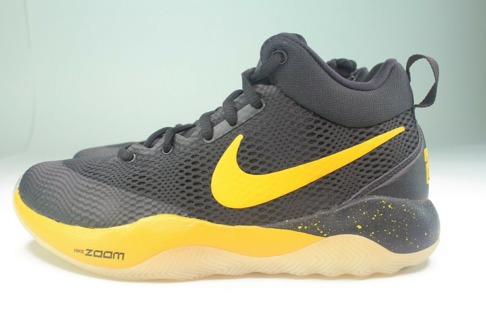 Nike Zoom Rev Pe Herren Größe 8.0 Schwarz University Gold Basketball 910572 070