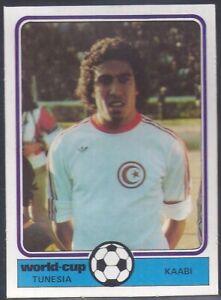 MONTY-GUM-WORLD-CUP-FOOTBALL-1978-TUNESIA-TUNISIA-KAABI