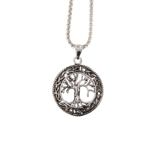 Zac/'s Alter Ego Alternative Jewellery Tree Of Life Chain Necklace