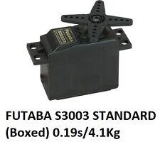 GENUINE FUTABA S3003 Servo Standard (Boxed) 0.19s/4.1Kg