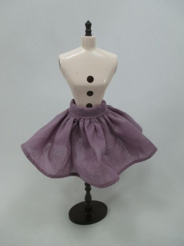 Handmade clothing Skirt for 1:6 scale doll Barbie Blythe #  Z-22 purple