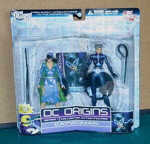 Dc Origins Série 1 Figurine Catwoman 2 Pk Direct Toys Nip