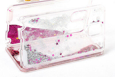 Dynamic Glitter Star Liquid Quicksand Case For Samsung Galaxy S4 S5 NOTE 3 Note4