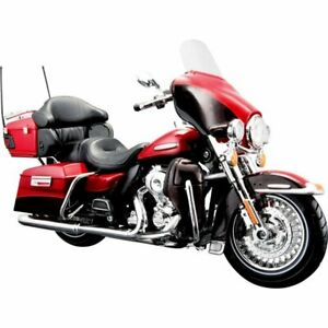 HARLEY-DAVIDSON FLHTK Electra Glide Ultra Limited - 2013 - red - Maisto 1:12