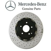 Mercedes R171 W209 Front Left Or Right Brake Disc Rotor Vented Cross Drill Slott on sale