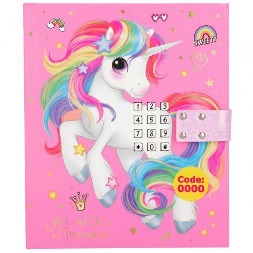 Code Depesche 10856 Ylvi /& the Minimoomis Tagebuch LED Sound Einhorn rosa