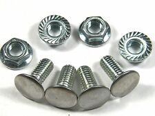 GM Bumper Bolts 7/16-14 x 1 With OE Style Nuts (4 Pack) #94