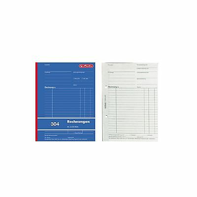 formularbuch rechnungsbuch a5 rechnung 304 2x50 blatt. Black Bedroom Furniture Sets. Home Design Ideas