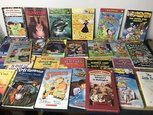 Lot-of-10-RANDOM-Children-039-s-Kids-Chapter-Books-Instant-Library-Unsorted-Bundle