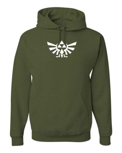 Legend of Zelda Logo Sweatshirt Hoodie SIZES S-3XL