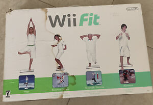 Wii Fit (Wii, 2008) Balance Board and Disc Game - New in Box