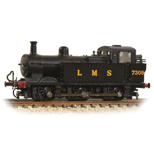 Graham-Farish-372-210A-N-Gauge-LMS-Black-Class-3F-Jinty-7309