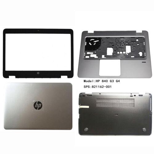 New HP EliteBook 840 G3 G4 Lcd Cover /& Bezel /& Palmrest keyboard /& Bottom Base