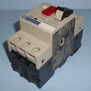 Telemecanique 2 5 4a Manual Motor Starter Protector Gv2