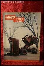 Das Auto AMS Auto Motor Sport 2/53 Goliath GP 700 Alfa Romeo 1900
