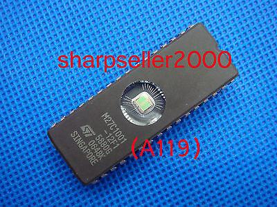 5pcs M27C1000-15F1 M27C1000 27C1000 EPROMs ST