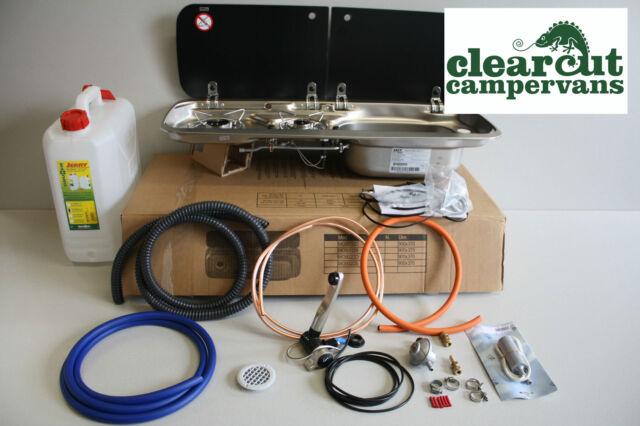 Campervan Smev 9222 Combination Unit Hob R  H Sink Tap