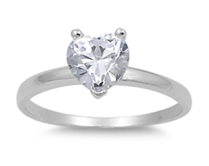 925-Silver-Solitaire-2-00ct-Simulated-Diamond-Size-7-Heart-Promise-Ring-S74