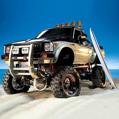 Tamiya 1:10 Toyota Hilux High Lift 4x4 3 Speed EP Crawler RC Cars Kit  58397