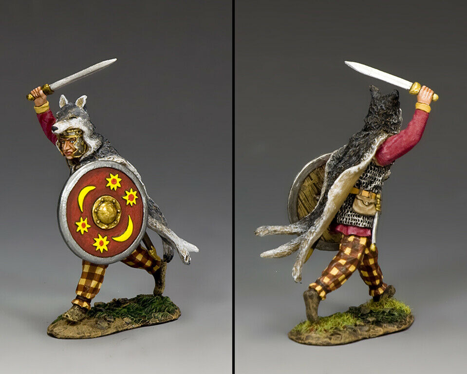 KING & COUNTRY ROMAN EMPIRE RNB012 CHARGING WARRIOR MIB