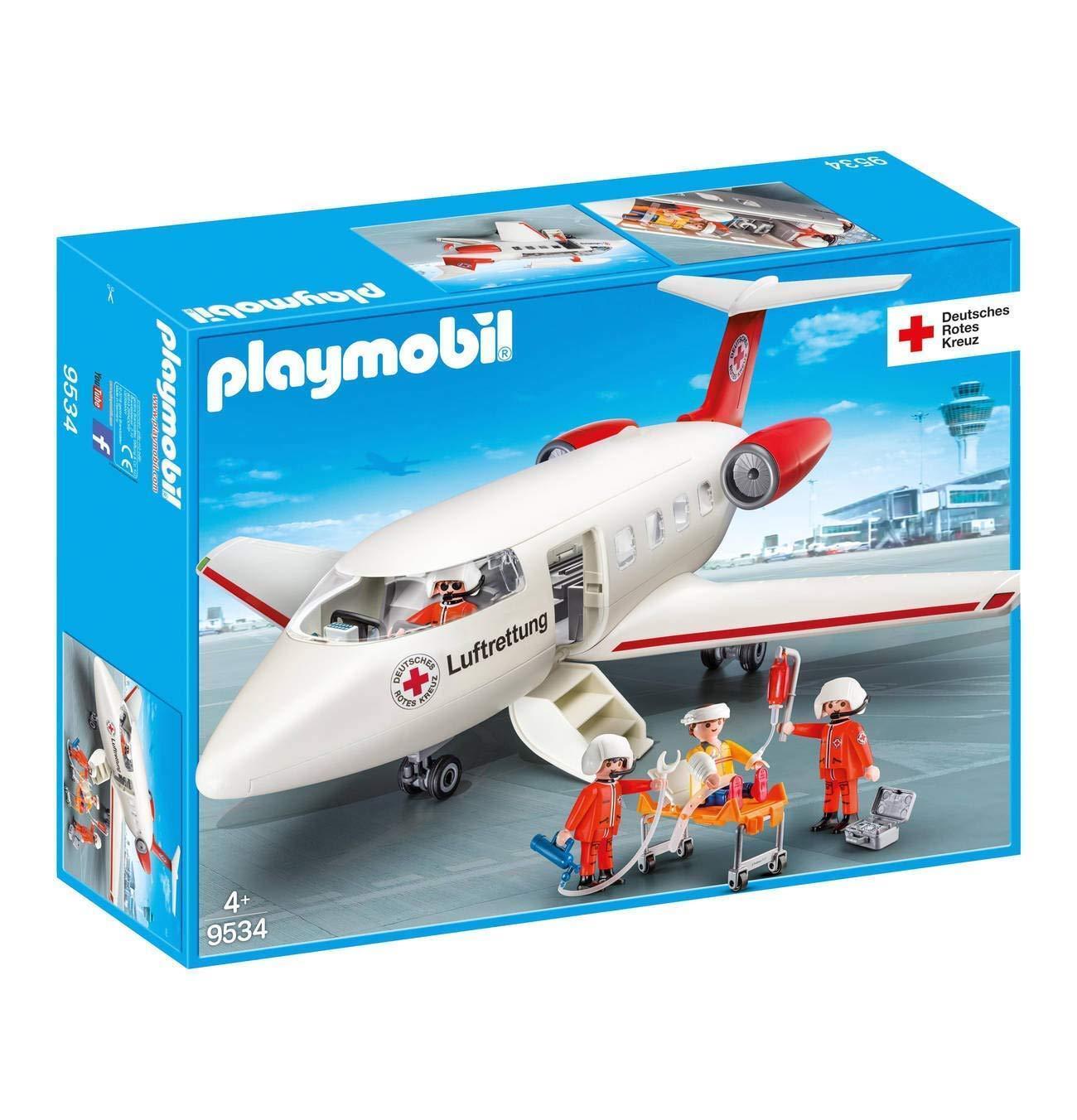 Playmobil - Deutsches Rotes Kreuz - 9534 - Rettungsflugzeug - NEU OVP