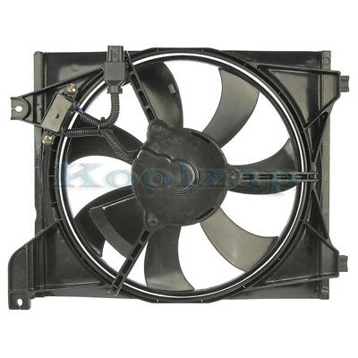A//C AC Condenser Cooling Fan Assembly Passenger Side Right RH For 06-11 Rio Rio5
