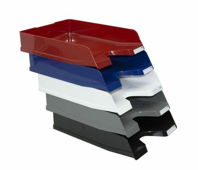 5x Herlitz Ablagekorb Briefkorb Farbe blau Briefablage