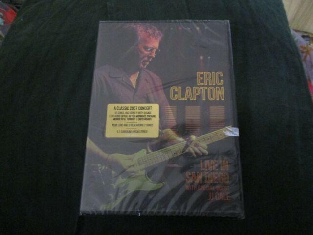 "DVD NEUF ""ERIC CLAPTON : LIVE IN SAN DIEGO 2007"""