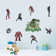The Avengers Hulk Ultron kids Removable Wall Sticker Vinyl Art Mural Decal Decor